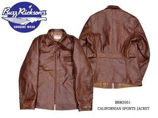 【Buzz Rickson's /バズリクソンズ】ジャケット/CALIFORNIAN SPORTS JACKET:BR80561