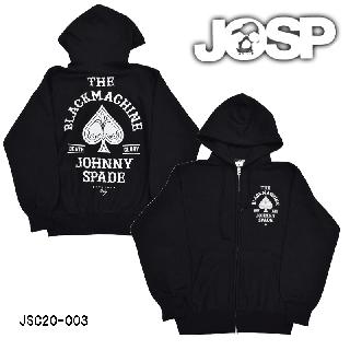 【JOHNNY SPADE/ジョニースペード】ZIP HOODY/JSC20-003