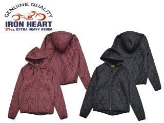 【IRON HEART/アイアンハート】ジャケット/IHJ-91:キルティングパーカー