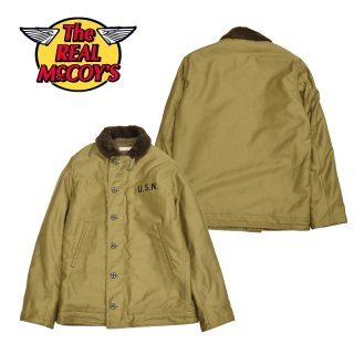 【THE REAL McCOY'S/リアルマッコイズ】TYPE N-1 DECK JACKET:MJ13111 KHAKI