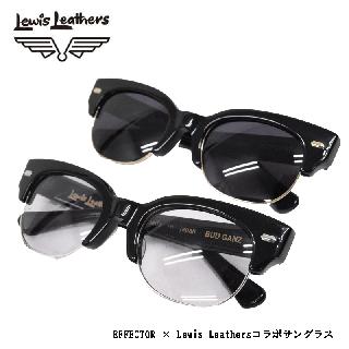 【Lewis Leathers/ルイスレザーズ】 EFFECTOR × Lewis Leathersコラボサングラス:BUD GANZ