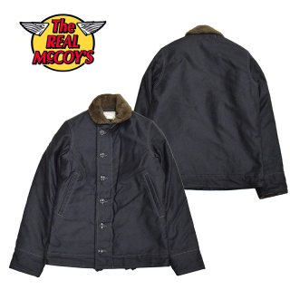 【THE REAL McCOY'S/リアルマッコイズ】TYPE N-1 DECK JACKET:MJ14109 NAVY