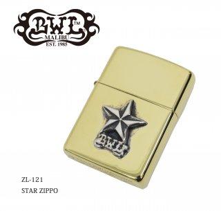 【Bill Wall Leather/ビルウォールレザー】ZIPPO/ZL121 STAR ZIPPO