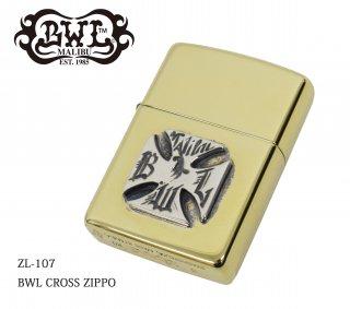 【Bill Wall Leather/ビルウォールレザー】ZIPPO/ZL-105 BWL CROSS ZIPPO