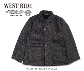 【WESTRIDE/ウエストライド】BEACH COVERALL