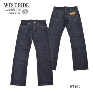 【WESTRIDE/ウエストライド】ボトム/WR101 DENIM PANTS