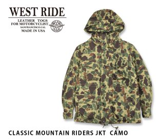 【WEST RIDE/ウエストライド】ジャケット/CLASSIC MOUNTAIN RIDERS JKT