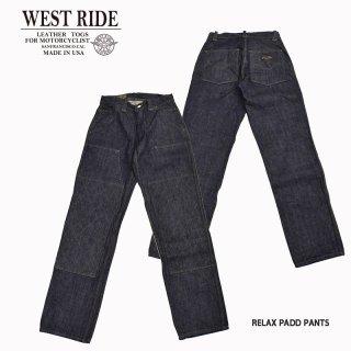 【WESTRIDE/ウエストライド】ボトム/RELAX PADD PANTS/MB1906