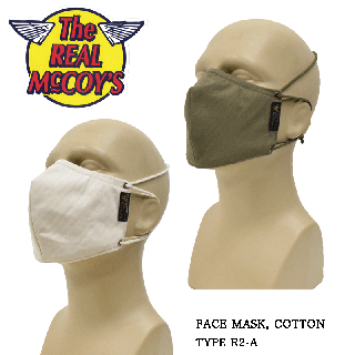 【THE REAL McCOY'S/リアルマッコイズ】FACE MASK, COTTON TYPE R2-A:MA20200