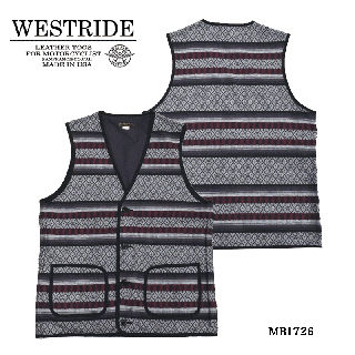 【WEST RIDE/ウエストライド】 ベスト / MEXICAN RUG VEST/MB1726