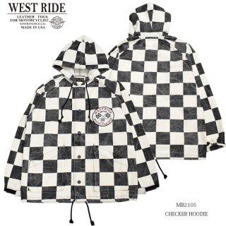 【WEST RIDE/ウエストライド】ジャケット/CHECKER HOODIE:MB2105