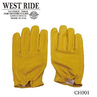 【WESTRIDE/ウエストライド】グローブ/CLASSIC SHORT GLOVE GOLD
