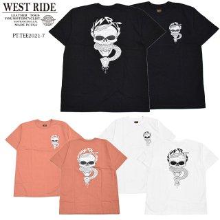 【WEST RIDE/ウエストライド】Tシャツ/PT.TEE.21-07