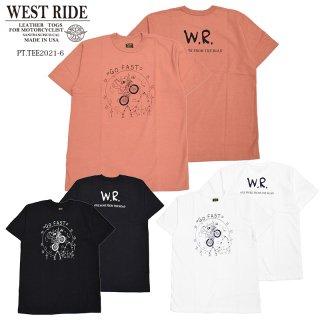 【WEST RIDE/ウエストライド】Tシャツ/PT.TEE.21-06