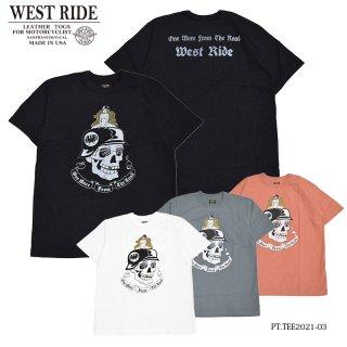 【WEST RIDE/ウエストライド】Tシャツ/PT.TEE.21-03
