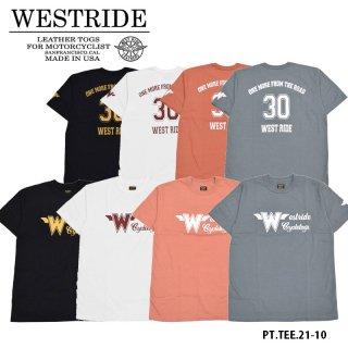 【WEST RIDE/ウエストライド】Tシャツ/PT.TEE.21-10