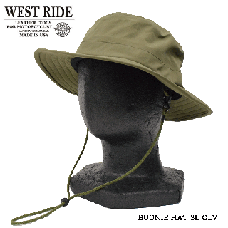 【WEST RIDE/ウエストライド】ハット/BOONIE HAT 3L OLV
