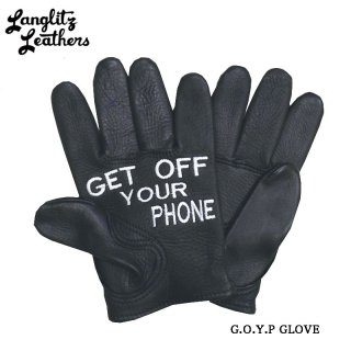 【Langlitz Leathers/ラングリッツレザーズ】レザーグローブ/G.O.Y.P. Short Glove