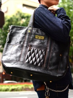 【WEST RIDE/ウエストライド】バッグ/PADDED TOTE BAG LEATHER