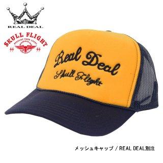 【SKULL FLIGHT/スカルフライト】メッシュキャップ / REAL DEAL別注