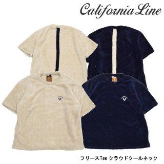 【CALIFORNIA LINE】Tシャツ/クラウドクルーネック フリースTee