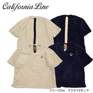 【CALIFORNIA LINE】Tシャツ/クラウドVネック フリースTee