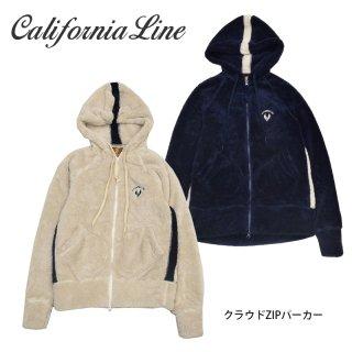 【CALIFORNIA LINE】フリース/クラウドZIPパーカー