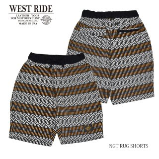 【WEST RIDE/ウエストライド】ショーツ/NGT RUG SHORTS