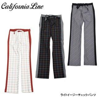 【CALIFORNIA LINE/カリフォルニアライン】ボトム/ライトイーチェックジーパンツ:CLP21ー002