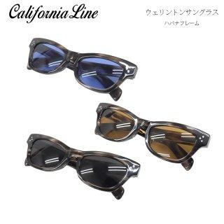 【CALIFORNIA LINE/カリフォルニアライン】ウェリントンサングラス/ハバナフレーム
