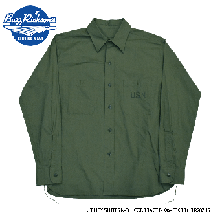 【Buzz Rickson's バズリクソンズ】シャツ/UTILITY SHIRTS N-3「CONTRACT NXsx-83000」/BR28219
