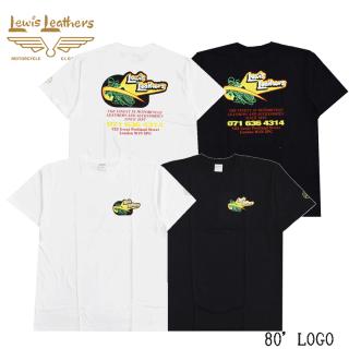 【Lewis Leathers/ルイスレザーズ】Tシャツ/80'LOGO