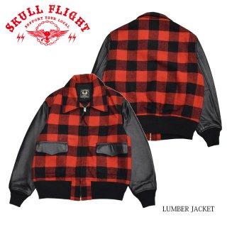 【SKULL FLIGHT/スカルフライト】ジャケット/LUMBER JACKET:SFJ21-010