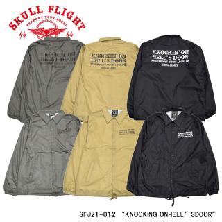 【SKULL FLIGHT/スカルフライト】ジャケット/COACH JACKET
