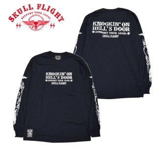 【SKULL FLIGHT/スカルフライト】ロングスリーブTシャツ/