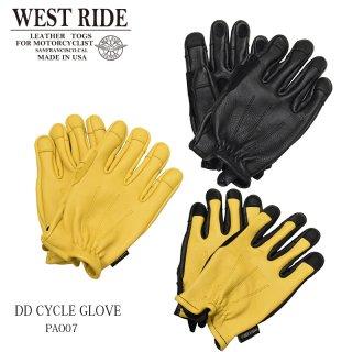 【WESTRIDE/ウエストライド】グローブ/DD CYCLE GLOVE (PA007)
