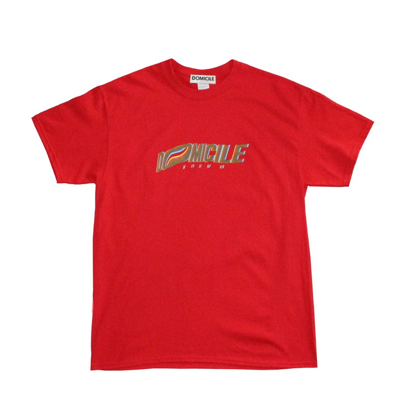 FRONT LOGO T-SHIRT 【RED】