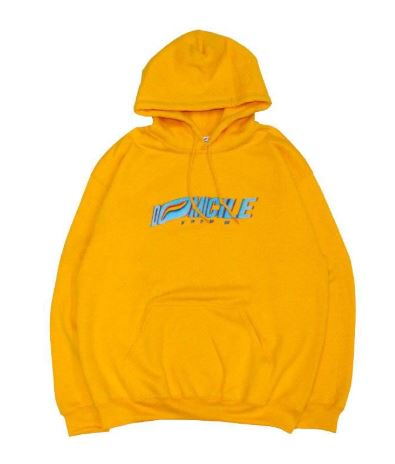 FRONT LOGO HOODIE 【YELLOW】