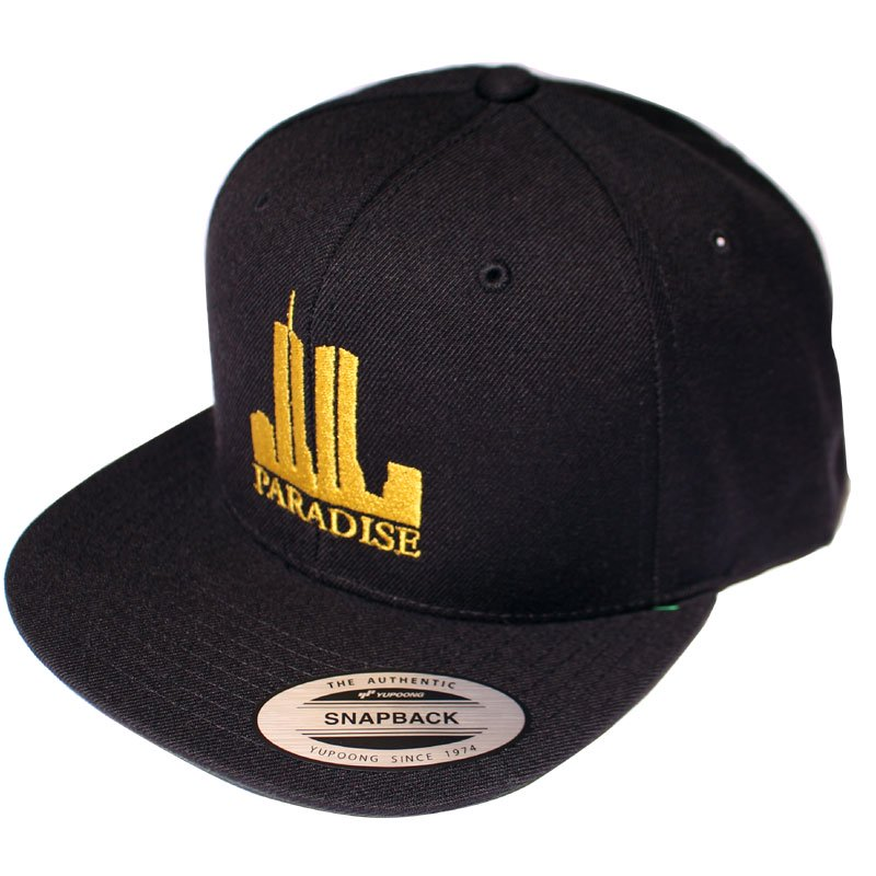 TWIN TOWERS SNAPBACK 【BLACK】