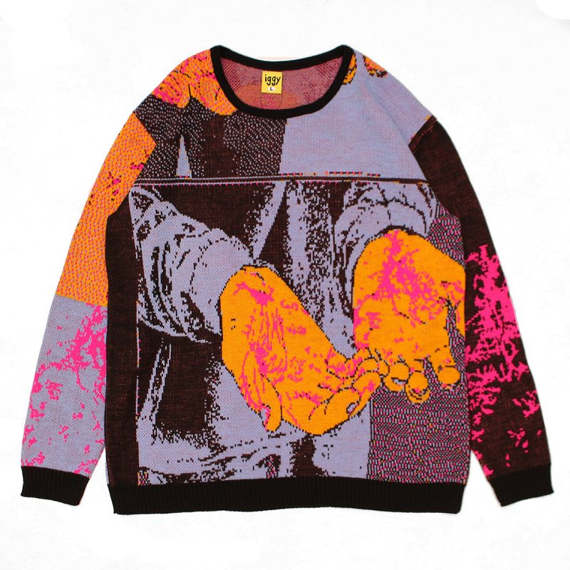 BLOOD ON MY HANDS KNIT