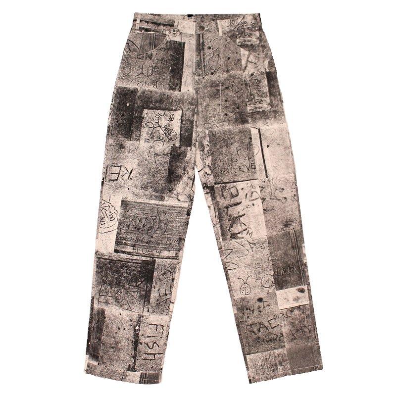 Wet Cement Work Pants