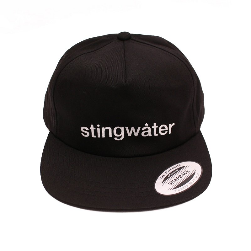 LOGOTYPE HAT (SNAPBACK) 【BLACK】