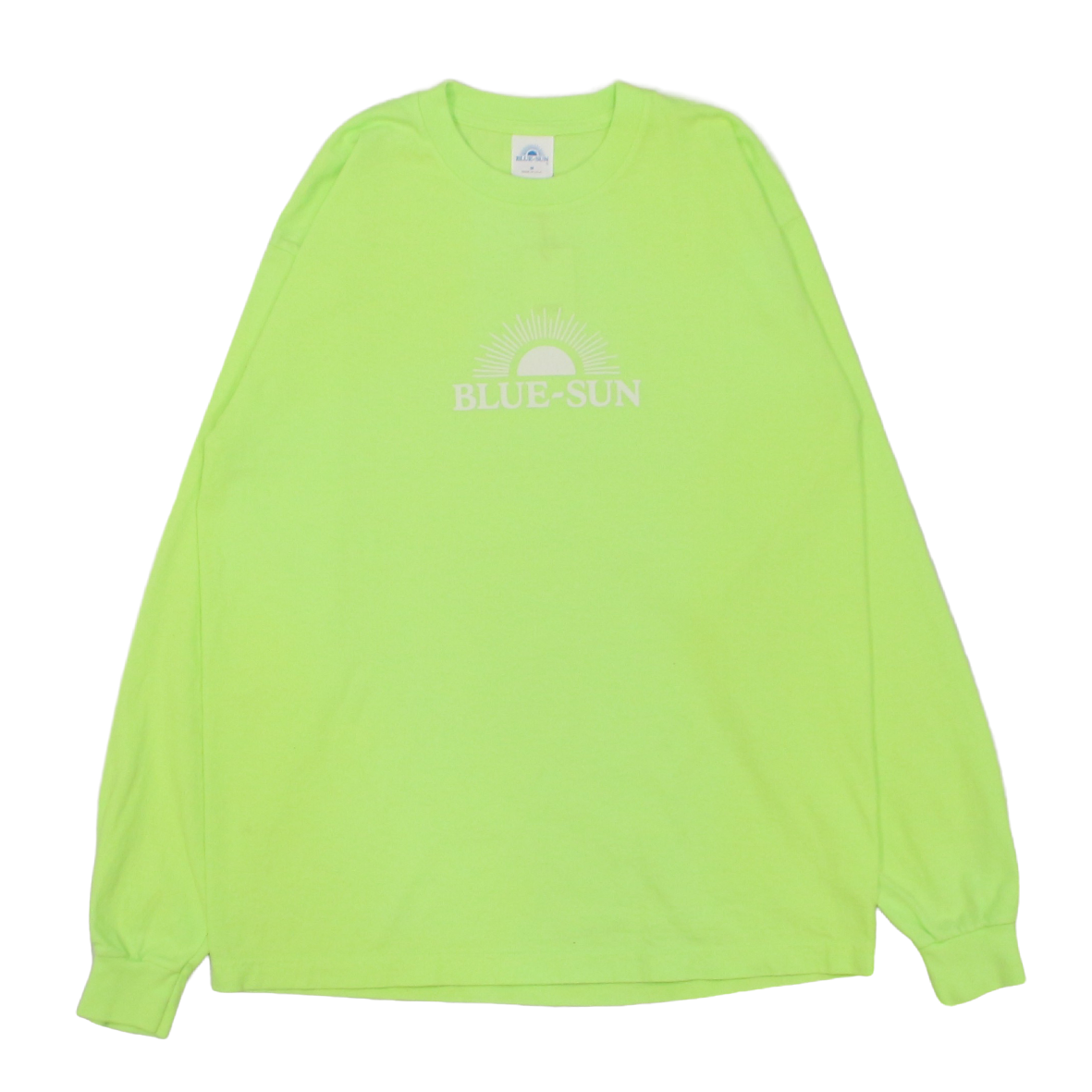 LOGO L/S TEE 【BRIGHT LIME】