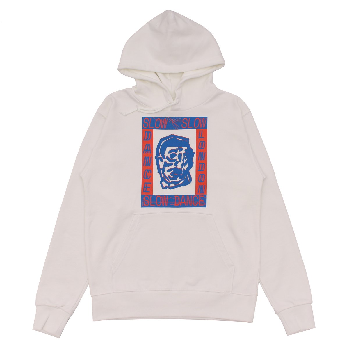 SLOW DANCE × LOCAL ALLIANCE Basic Logo Hoodie 【WHITE】