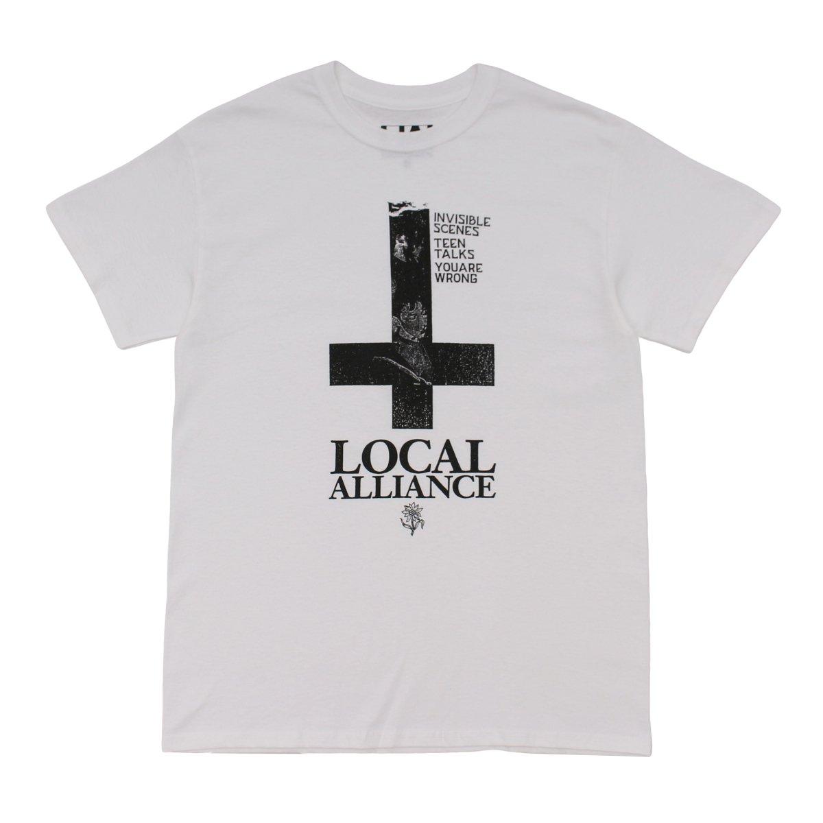 Cross Wave T-shirt 【WHITE】