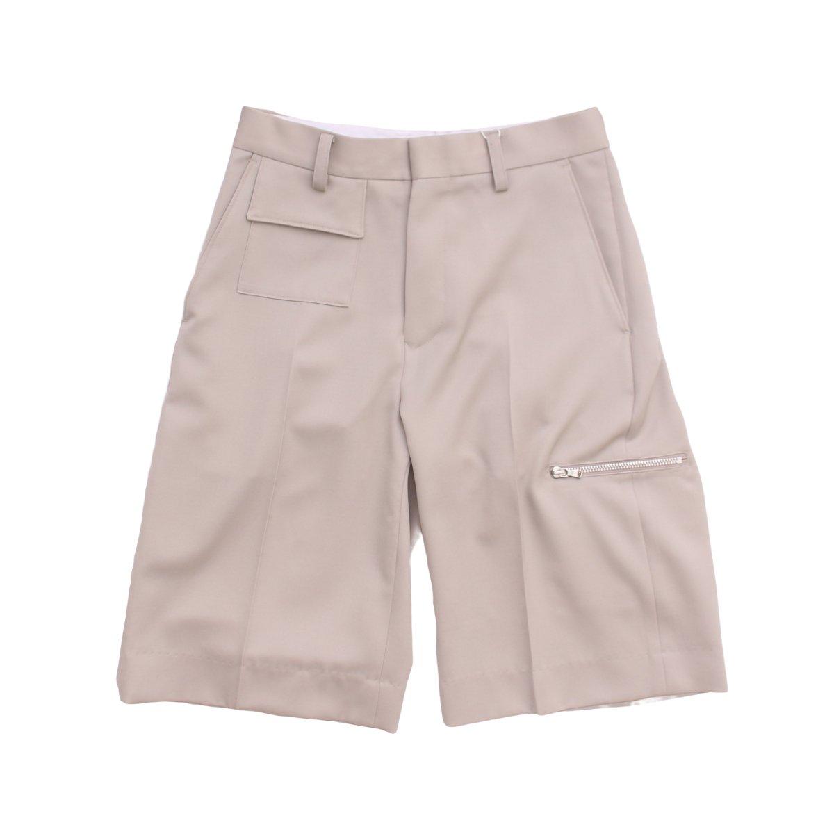 Wool Wide Shorts