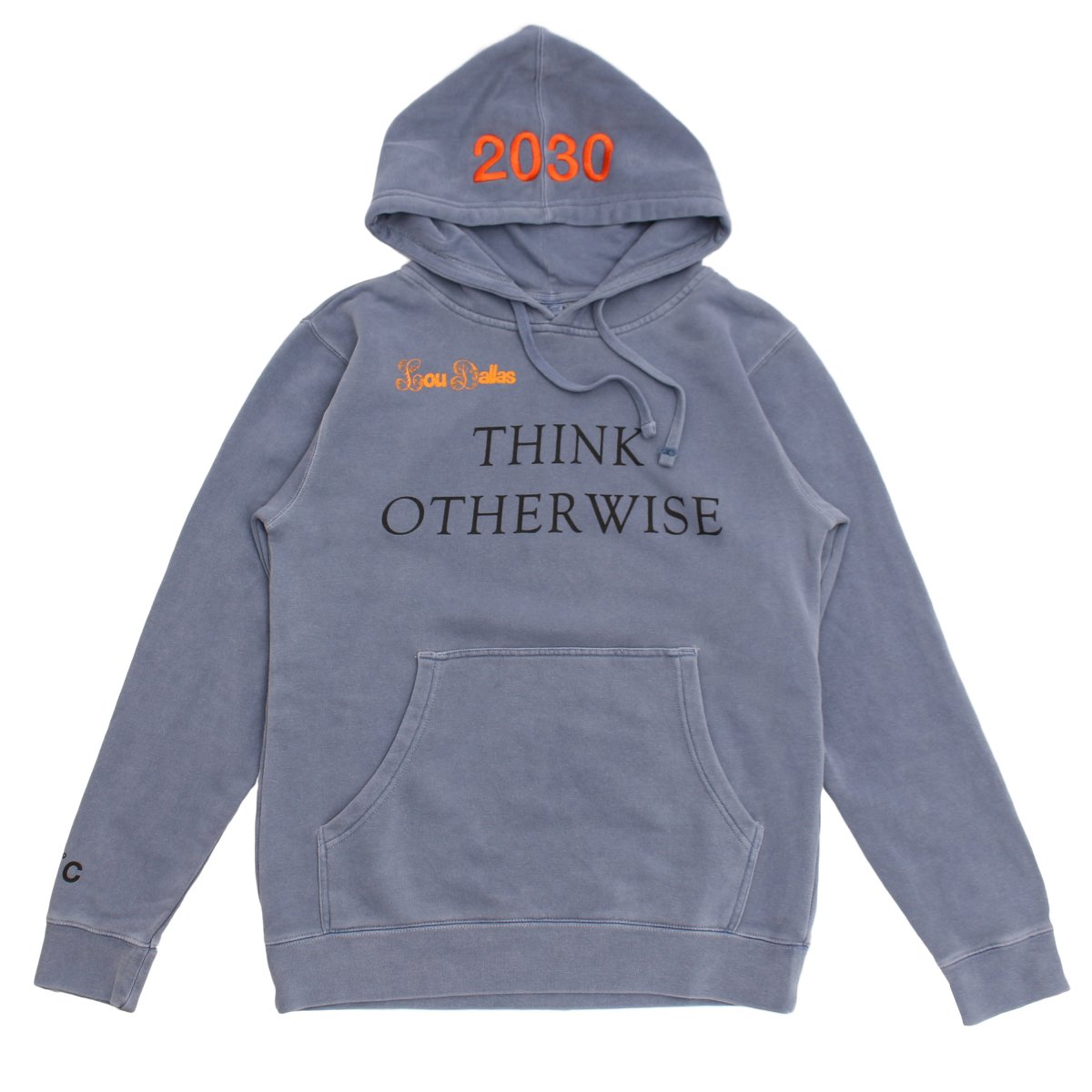 THINK OTHERWISE HOODIE(Strong Woman Better Planet)