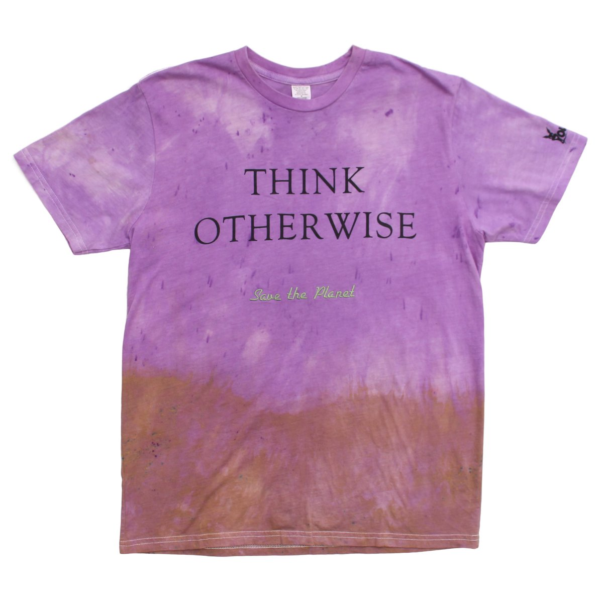 Dyed T-shirt with Embroidery(1 of 1)
