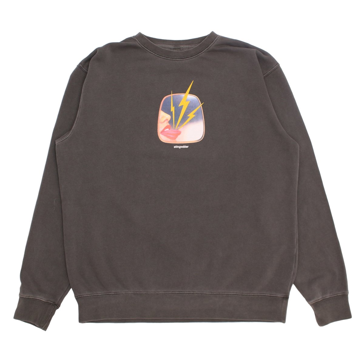 It stings the face Sweatshirt (pigment dyed)