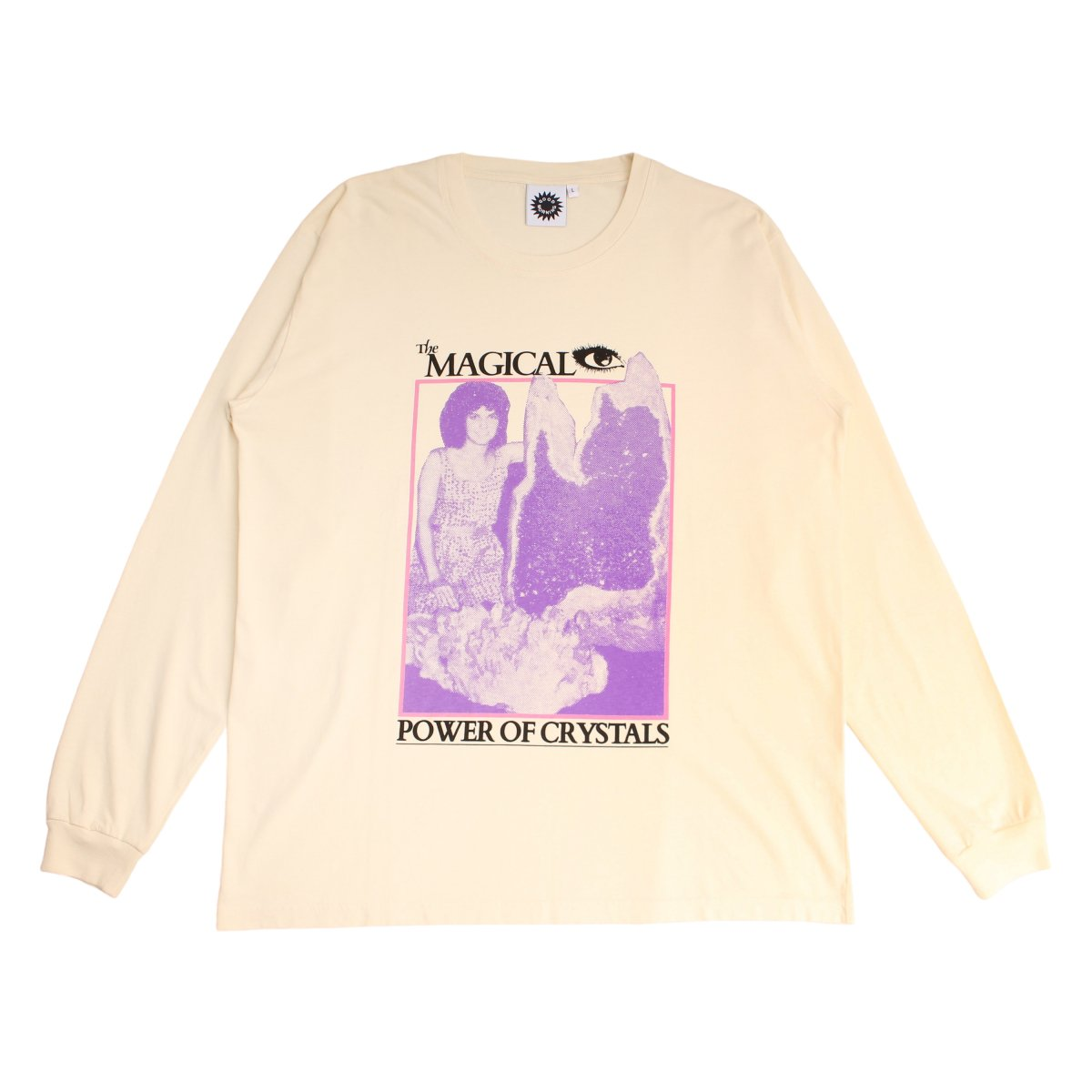 THE MAGICAL POWER OF CRYSTALS LS TEE